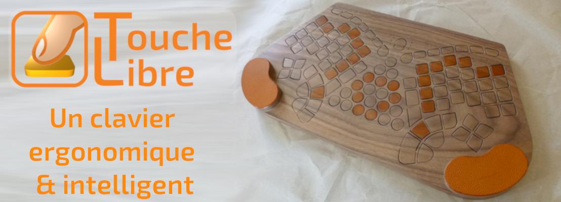 Jeudi 28/02/19 : ToucheLibre, un clavier ergonomique intelligent
